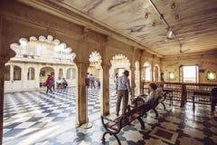 Palazzo della città di Udaipur Immagine Stock Libera da Diritti
