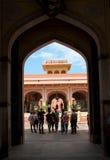 Palazzo della città a Jaipur. Immagini Stock Libere da Diritti
