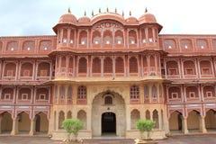 Palazzo della città a Jaipur. Immagini Stock