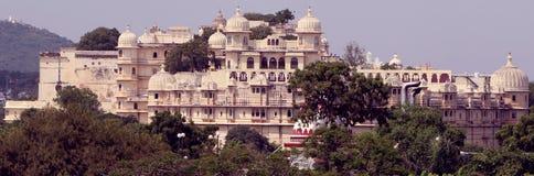 Palazzo della città, Udaipur Immagini Stock Libere da Diritti