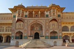 Palazzo della città a Jaipur Fotografia Stock Libera da Diritti