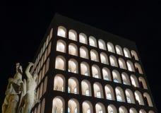 Palazzo della Civiltà Italiana, Rome Stock Image