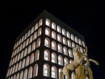 Palazzo della Civiltà Italiana, Rome Royalty Free Stock Images