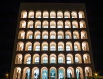 Palazzo della Civiltà Italiana, Rome Royalty Free Stock Photo
