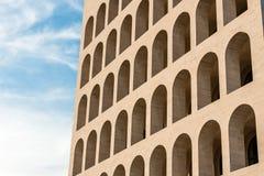 Palazzo-della CiviltàItaliana, aka Vierkante Colosseum, Rome, Stock Fotografie