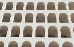 Palazzo-della civilta italiana, Rom-Architekturmarkstein lizenzfreie stockfotografie