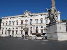 Palazzo della Consulta in Rome Stock Photography