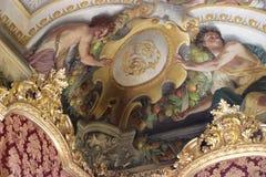 Palazzo della Consulta in Rome. The Constitutional Court of Italy in Palazzo della Consulta, is among the Quirinal Hill government buildings in Rome royalty free stock photography