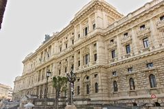 Palazzo della corte di cassazione immagini stock libere da diritti