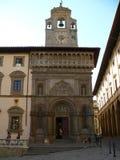 Palazzo della Fraternita dei Laici, Arezzo (Włochy). obraz stock