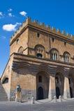 Palazzo della gente. Orvieto. L'Umbria. L'Italia. Fotografia Stock
