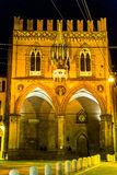 Palazzo della Mercanzia, Bologna Royalty Free Stock Photos