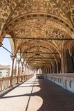 Palazzo Della Ragione, the external gallery. Padua. Italy Royalty Free Stock Image