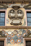 Palazzo della Ragione facade the former Town Hall, Verona, Italy, Royalty Free Stock Photo
