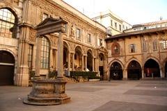Palazzo della Ragione in Milan, Italy Stock Image