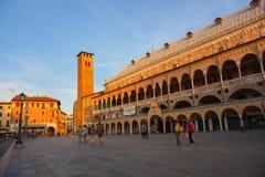 Palazzo della Ragione, Padova Fotografering för Bildbyråer