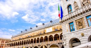 Palazzo della Ragione - Padova - Italy.  royalty free stock photo