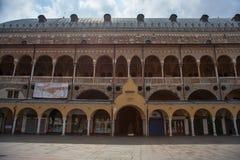 Palazzo della Ragione. PADOVA, ITALY - AUGUST, 28: View of the Palazzo della Ragione on August 28, 2014 stock images