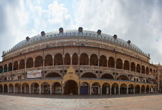 Palazzo della Ragione. PADOVA, ITALY - AUGUST, 28: View of the Palazzo della Ragione on August 28, 2014 stock image