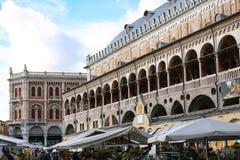 Palazzo della ragione in Padua Stock Photography