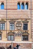 Palazzo della Ragione on Piazza dei Signori Stock Images