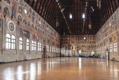 Palazzo della Ragione wnętrze Padova Zdjęcie Royalty Free
