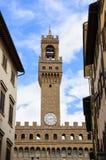Palazzo della Signoria,佛罗伦萨,意大利 免版税库存照片