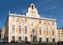 Palazzo della st George, Genova, Italia immagine stock libera da diritti