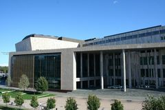 Palazzo delle arti Immagine Stock Libera da Diritti