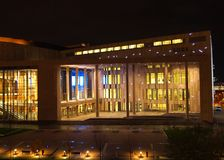 Palazzo delle arti Fotografia Stock Libera da Diritti