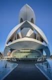 Palazzo delle arti Valencia Fotografia Stock Libera da Diritti