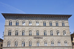Palazzo delle Assicurazioni Generali Royalty Free Stock Photos