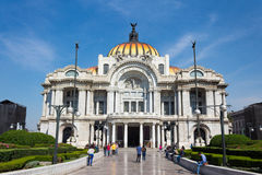 Palazzo delle belle arti - Città del Messico Fotografie Stock Libere da Diritti