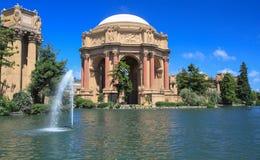 Palazzo delle belle arti San Francisco, California Immagini Stock