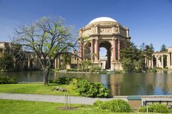Palazzo delle belle arti, San Francisco, California, U.S.A. Fotografie Stock