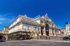 The Palazzo delle Esposizioni in Rome Stock Photography