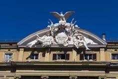 Palazzo delle Finanze Arkivbilder
