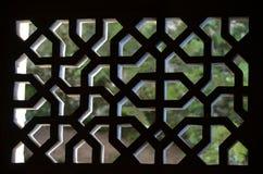 Palazzo dello Shirvanshahs nella vecchia città di Bacu, capitale dell'Azerbaigian fotografia stock