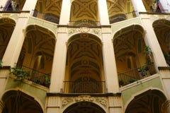 Palazzo-dello Spagnolo, Neapel, Italien stockfotografie