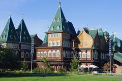 Palazzo dello zar Alexey Mikhaliovich Moscow Kolomenskoye Immagini Stock Libere da Diritti