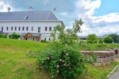 Palazzo dello zar Alexey Mikhaylovich nel monastero dell'uomo di Savvino-Storozhevsky in Zvenigorod, Russia Fotografia Stock Libera da Diritti