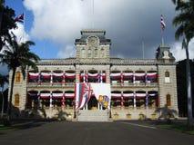 "Palazzo di Ê"" Iolani, Honolulu, Oahu, Hawai Immagine Stock"