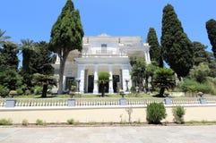 Palazzo di Achilleion Gastouri un'isola di Corfù, Grecia Immagini Stock