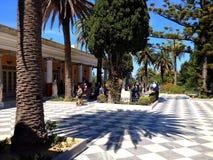 Palazzo di Achillion, Corfù, Grecia Fotografia Stock Libera da Diritti