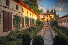 Palazzo di Alhambra Fotografia Stock Libera da Diritti