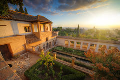 Palazzo di Alhambra immagine stock
