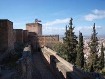 Palazzo di Alhambra Fotografia Stock