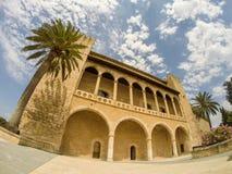 Palazzo di Almudaina Fotografia Stock Libera da Diritti