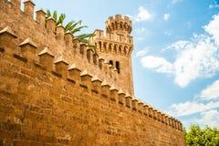 Palazzo di Almudaina Fotografie Stock