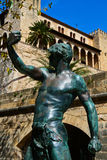 Palazzo di Almudaina della La in Palma de Mallorca Immagine Stock